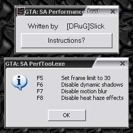 SA Performance Tool by [DRuG]Slick